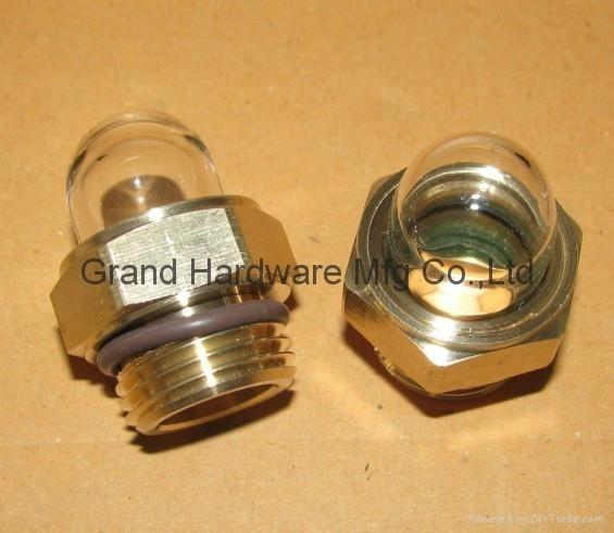 circular oil sight glasses