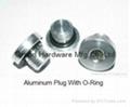 Aluminum drain plug