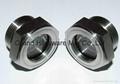 SUS304 不锈钢油位观察视镜液位计油窗有挡板耐高温高压 2