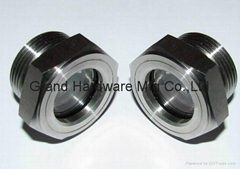 SUS 316 Oil Sight Glass sight windows for palm oil machine