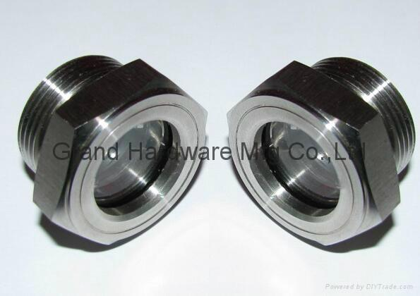 """G3/4"""" Stainless steel 304 oil sight glass oil sight plugs 3"""