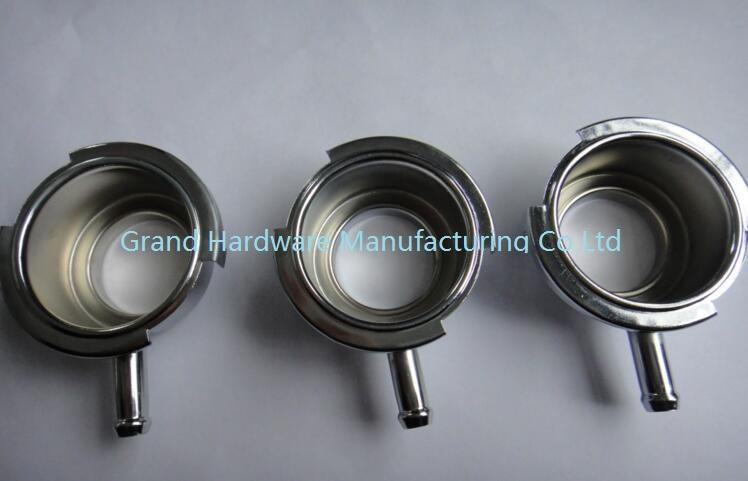 OEM stainless steel radiator filler neck