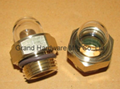 "NPT 1/2"" OEM domed oil sight glass"