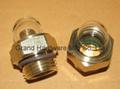 NPT 1/2 domed oil sight glass