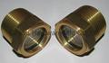 NPT brass oil level sight glasses