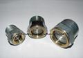 NPT Thread steel sight glass Zinc Plated