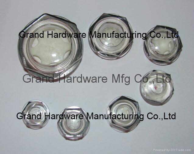 定制G3/4寸黄铜油位器液位器油位观察镜油窗GM-BG34 5