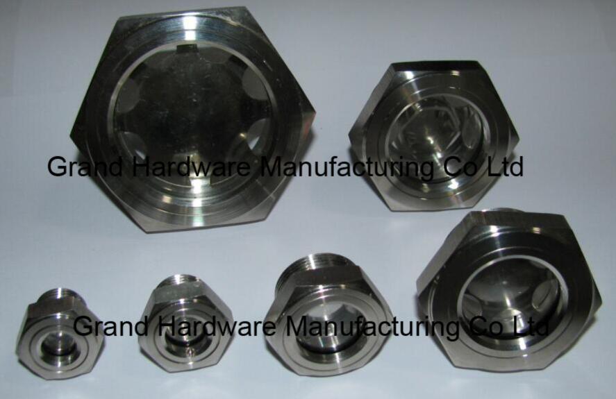 定制G3/4寸黄铜油位器液位器油位观察镜油窗GM-BG34 7