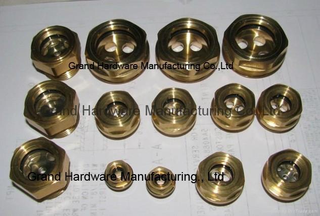 定制G3/4寸黄铜油位器液位器油位观察镜油窗GM-BG34 11