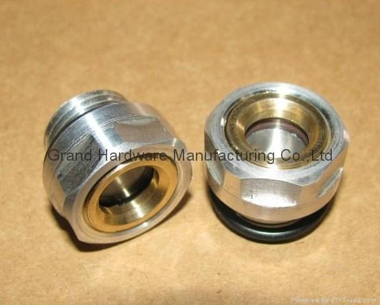 M16x1.5 aluminum oil sight plugs
