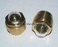 Domed shape oil sight glass for USA Truck radiator