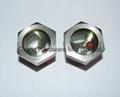 空壓機鋁制油液視鏡油鏡M20x1.5 11