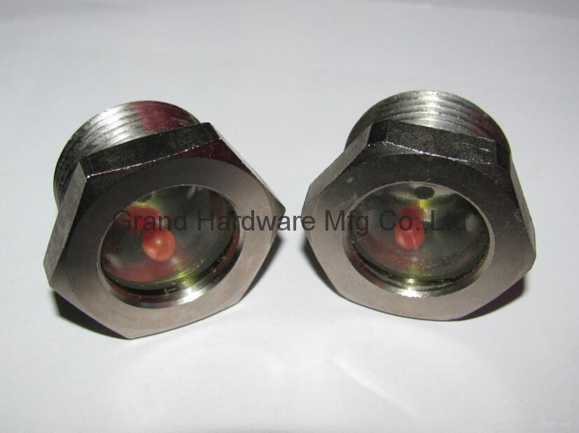 空壓機鋁制油液視鏡油鏡M20x1.5 12