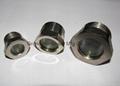fused sight plug for horizontal liquid receiver