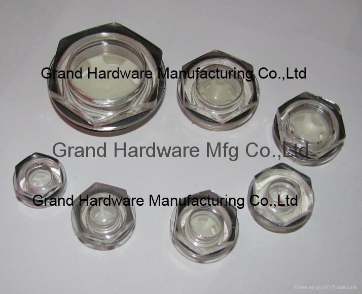 G1/2 英吋空壓機鋁油鏡 9