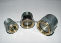 Steel Zinc plated oil level sight glass for centrifugal pump
