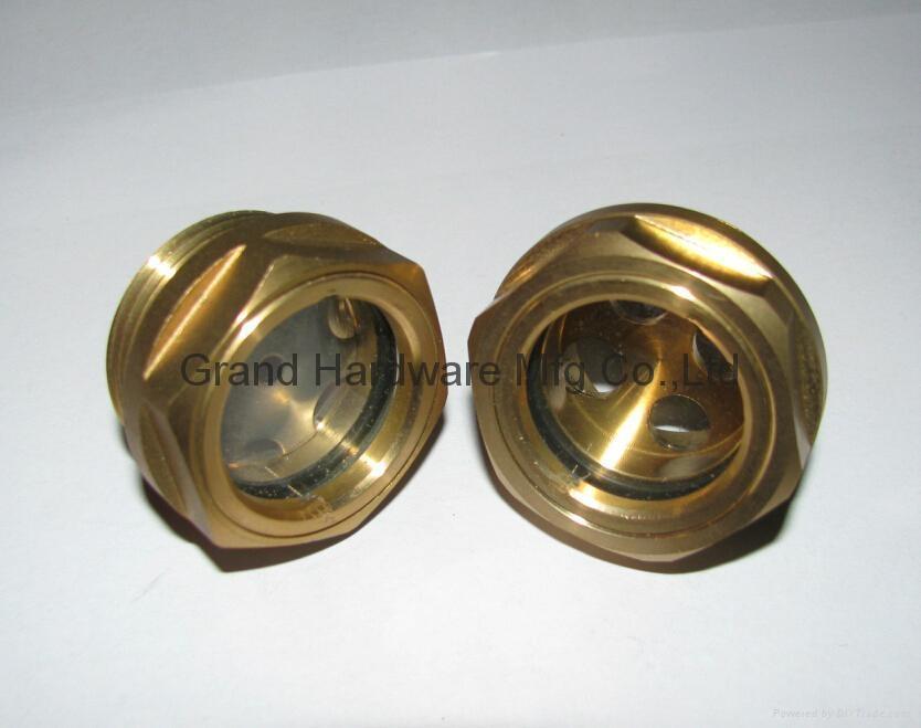 英制管螺纹1英寸油镜视镜油位镜 1