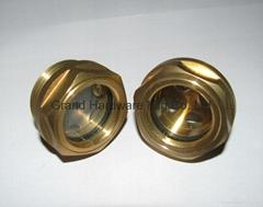 英制管螺纹1英寸油镜视镜油位镜