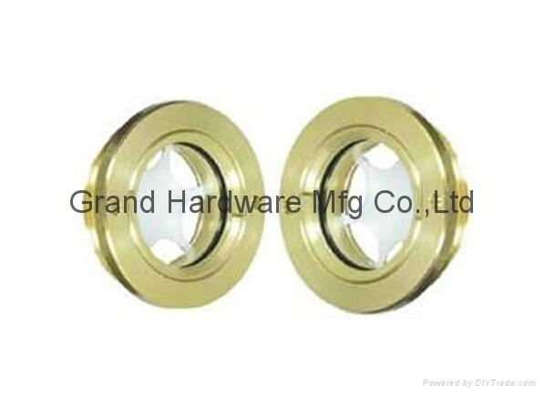 """Brass Oil sight Glass BSP 1"""" with reflector"""