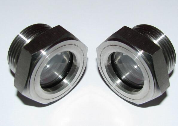 "NPT3/4"" Oil level Sight Glass Plug for process centrifugal pump 7"