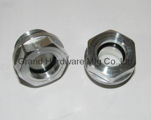 """Aluminum oil level sight glass G1/2"""""""
