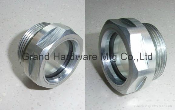 """Aluminum fluid level indicator G1"""""""