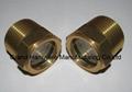 .One Inch bullseye brass oil level sight glass ANSI process centrifugal pump