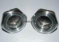 bsp aluminum oil level sight gauge