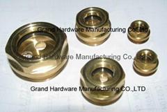 """螺杆压缩机G1""""铜油镜油标油位镜"""