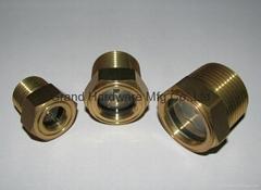 G3/4寸液压油箱黄铜油镜观油镜油窗油位显示器