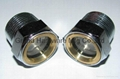 Steel Gasketed Window Sights Zinc Plated(Straight Thread)