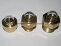 3-D BullsEye Brass Oil Sight Glass