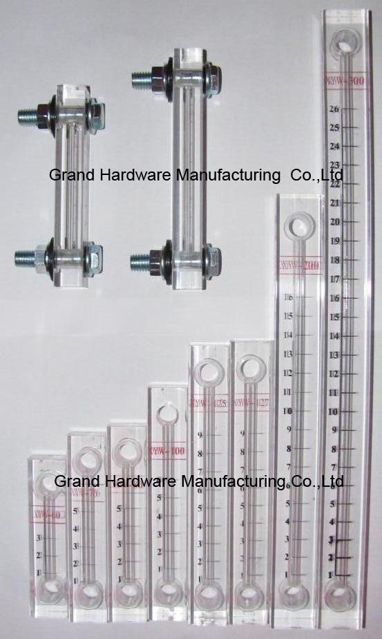 油液位铜管油标 8