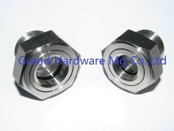 兩寸NPT不鏽鋼304耐高壓視液鏡油鏡 3