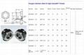 2'' NPT Stainless Steel 304 High Pressure Oil Level Sight glass