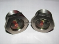 """rotalock sight glass G3/4"""" with red ball"""