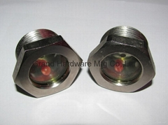 "Rotalock fused steel sight glass G1"""