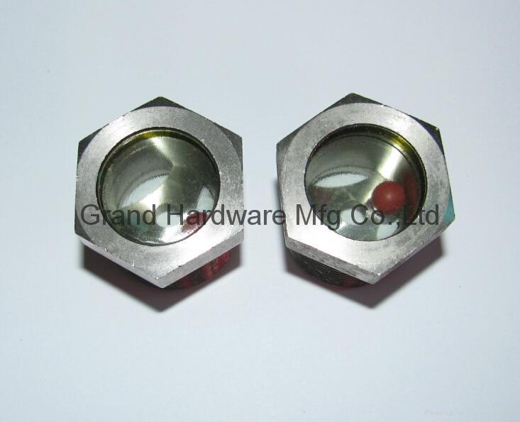 鐵鍍鎳燒結油鏡帶紅色浮球少量現貨供應可以定製 3