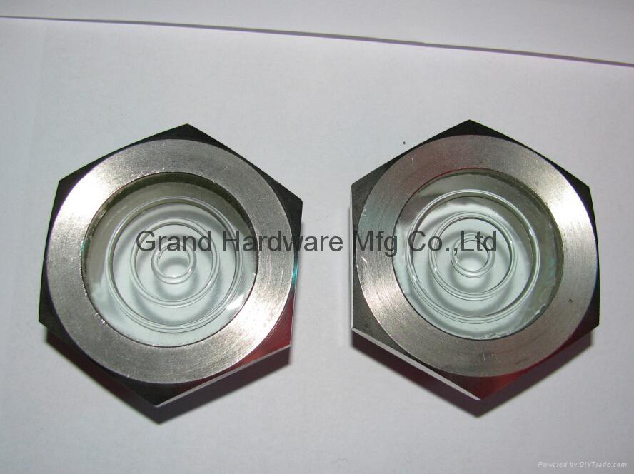 Rotalock oil sight glass