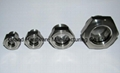 Stainless steel oil level sights