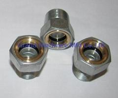 铁镀锌液油视镜油位观察镜减速机油镜