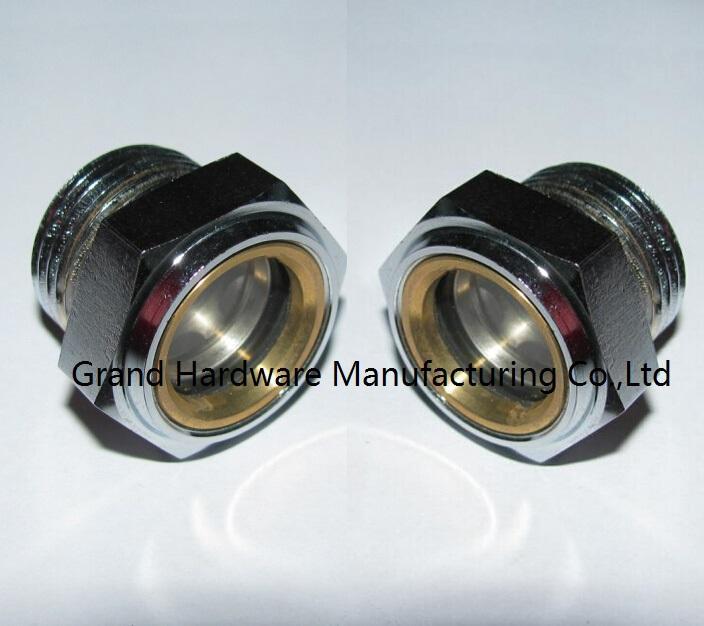 steel oil level sight glasses