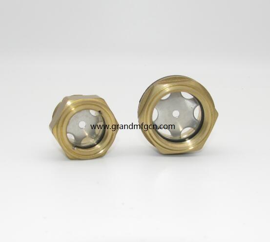 BSP 1/2 brass oil sight glasses