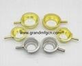 brass & stainless steel & aluminum filler necks