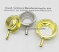 brass / aluminum / SS304 filler necks