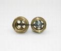 M33 brass oil level peep sights