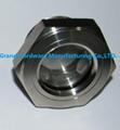 SUS304 不鏽鋼油位觀察視鏡液位計油窗有擋板耐高溫高壓 10