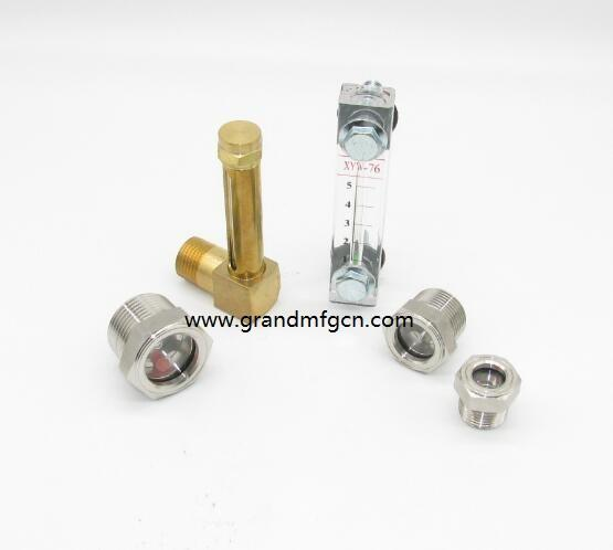 Stainless steel bull eye level sight glass gauges