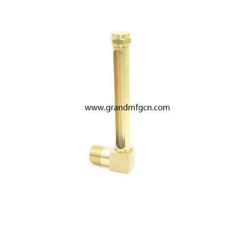 油液位铜管油标 7