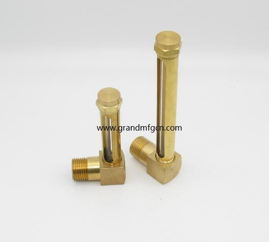油液位铜管油标 1